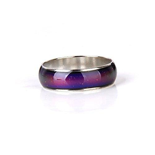 immung Ring Fingerring 15,6 mm (Stimmung, Wechselnde Farben)