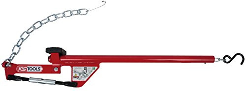 KS Tools 700.1495 Universal-Achshebel mit Kette, 960mm