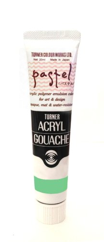 Turner Acryl Gouache 20ml Pastell Smaragd