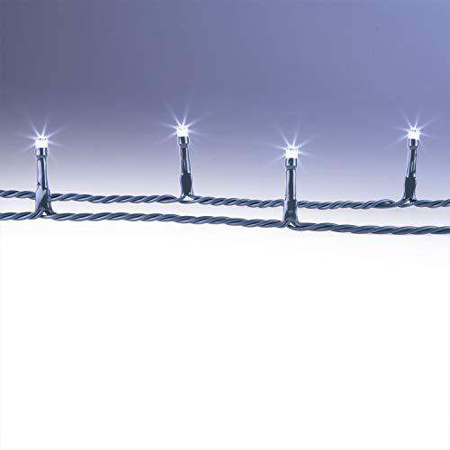 CLGarden LED Lichterkette 600 LEDs groß kalt Weiss Weihnachtsbeleuchtung