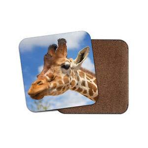 Worlddream Untersetzer, Giraffe, Tier-Wilder Zoo Afrika Serengeti Safari