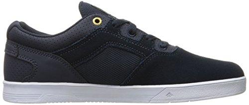 Emerica Westgate Cc Navy White, Chaussures de Skateboard Homme Bleu