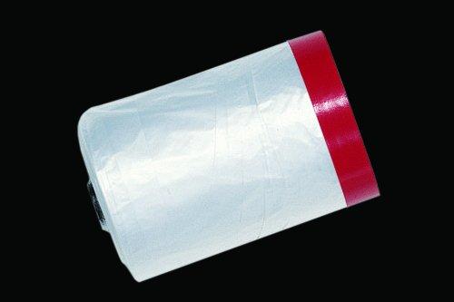 Gewebe Masker PREMIUM 25 Meter mit 140 cm Abdeckfolie - Putzmasker - Putzermasker - Cover Quick - Abdeckband Tape
