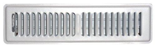 speedi-grille sg-214FLW 2von 35,6cm weiß Boden-Register mit 2Wege-Ablenkung