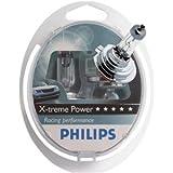 Philips 12972XPS2 X-treme Power - Bombilla H7 (2 unidades, 12 V, 55 W, 80% más potencia)