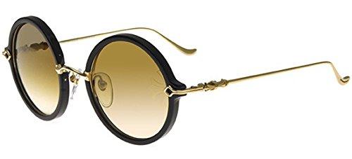 Chrome Hearts Sonnenbrillen MOIST BLACK GOLD/BROWN SHADED GOLD Damenbrillen