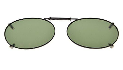 Eyekepper Metallrahmen Felge polarisierte Linse Clip auf Sonnenbrille 43x30MM G15 Linse