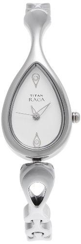 31zMsLOwE2L - Titan NE2400SM01 Raga Silver Women watch