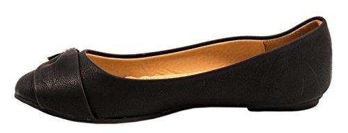 Elara - Pantofole Donna Nero