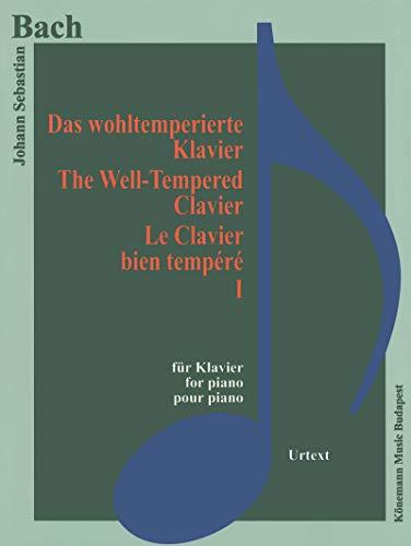 Partition - Bach - Le clavier bien tempéré I - pour piano (1)