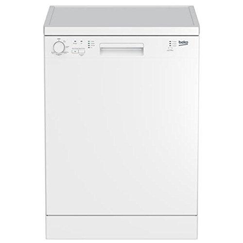 Beko DFN100 Autonome 12places A+ lave-vaisselle - Lave-vaisselles (Autonome, Blanc, Taille maximum (60 cm), Blanc, boutons,...