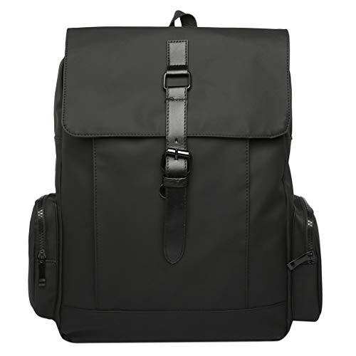 Bfmyxgs Männer Und Frauen Freizeit Mode Große Kapazität Schultern Tasche Durable Reise Rucksäcke Business Style Hunter Green-rucksack