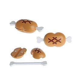 MuZuZi Giocattolo di legno per il taglio dei frutti di legno Giocattolo per le ragazze dei bambini