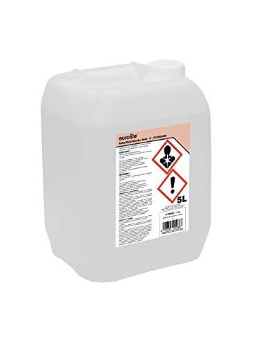 Eurolite Nebelfluid -C- | Smoke Fluid Standard| 5L | Made in Germany | Mittlere Dichte | Geruchsneutral auf Wasserbasis | Biologisch abbaubar | Nebelflüssigkeit für Ihre Nebelmaschine