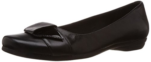 Clarks Discovery Dime Black Leather 5 UK D / 38 EU