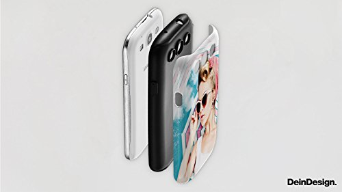 Apple iPhone X Silikon Hülle Case Schutzhülle Frau Champagner Roboter Tough Case matt