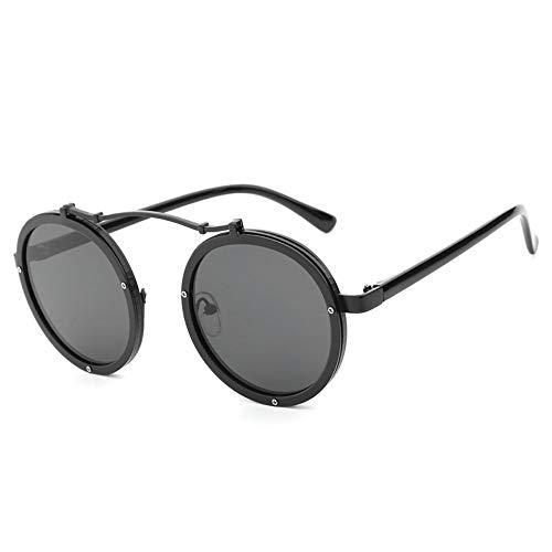 ZHOUYF Sonnenbrille Fahrerbrille Damenmode Sonnenbrille Runde Rahmen Hohe Qualität Uv400 Weibliche Sonnenbrille Großhandel, B