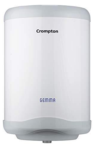 Crompton SWH6, Gemma 06-Litre Storage Water Heater (White/Grey)