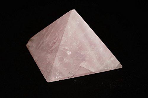 Astro galleria di gemme quarzo rosa piramide–91. 7grams