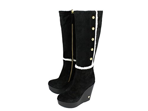 Love moschino paire de chaussures pour femmes bottes jI0000 shoe bottes Noir - Noir