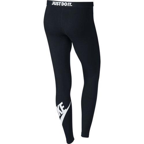 Nike Damen Leg-a-See Leggings Black/White