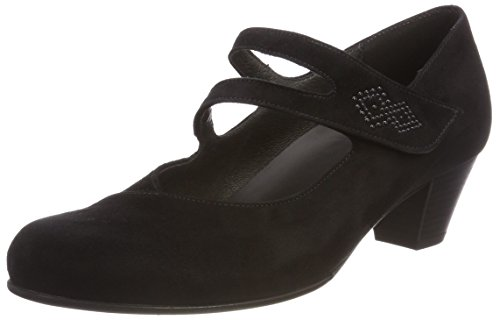 Gabor Shoes Damen Comfort Basic Pumps, Schwarz (Schwarz), 40 EU