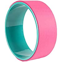 JESSIEKERVIN YY3 Rueda de Yoga para Principiantes Stoop Assist Rueda de Yoga Pilates Circle para el Gimnasio en casa (Color : Pink)