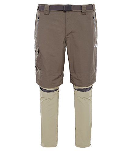 Pantaloni da uomo North Face M avviare Convertible Pants, marrone, 40, 0648335332399 Marrone - Marrone  - Weimaraner Brown