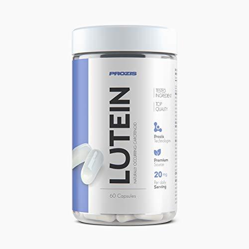 Prozis Suplemento vitamínico,  Lutein 20mg, 60 cápsulas