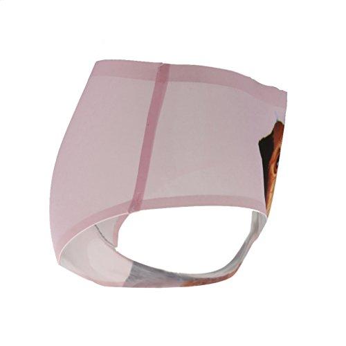 Baosity 3D Gatto Stampo Biancheria Intimo Mutande Slip Tanga per Donna Rosa