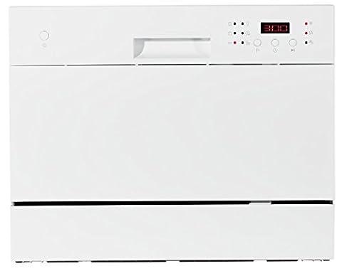MEDION Tischgeschirrspüler MD 16698 / 6 Reinigungsprogramme / max. 6