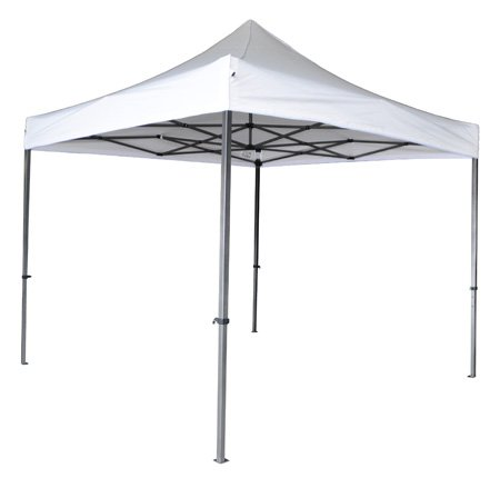Destello S.L. Carpa Extensible 3x3m Plegable Hierro Techo Blanco
