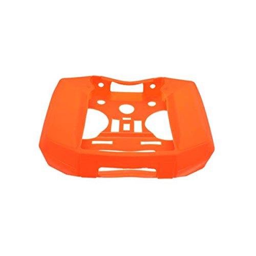 Kingduo involucro in silicone custodia protettiva per frsky taranis q x7 x7s rc drone transmitter-arancia