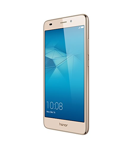 "Honor 5C - Smartphone Libre de 5.2"" (Android, cámara 13 MP, 16 GB, Octa-Core 2 GHz, 2 GB RAM), Color Dorado"