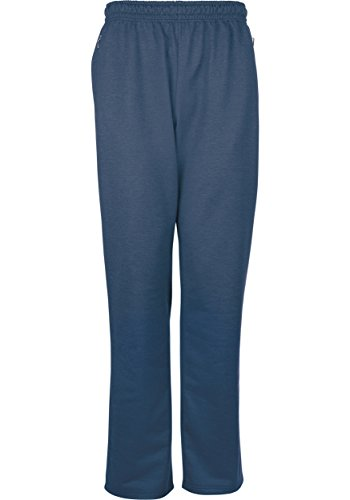 Trigema - Freizeithose Sweat-Qualität - Pantalon Femme Bleu (nightblue-melange 347)
