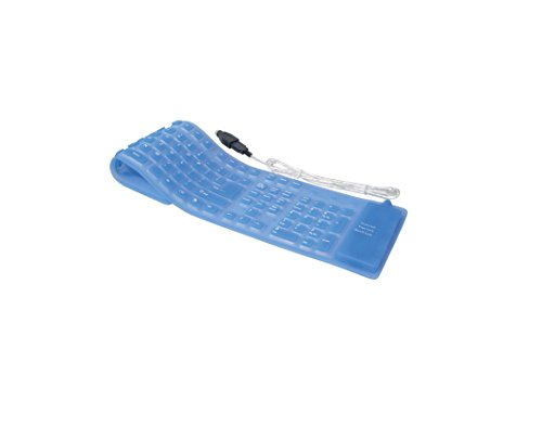 CREACTIVE FLEXTASTATURBLAU USB Flex-Tastatur Blau