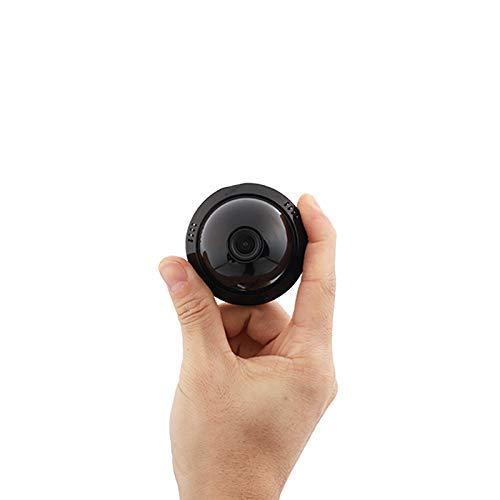 MENRAN Mini Kamera, Full HD 1080P Tragbare Kleine Überwachungskamera, Mikro Nanny Cam mit Bewegungserkennung Zwei-Wege-Audio und Infrarot Nachtsicht, Compact Sicherheit Kamera für Innen und Aussen