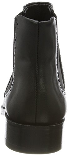 Royal RepubliQ Damen Prime Brogue Chelsea-Blk Boots Schwarz (Black)