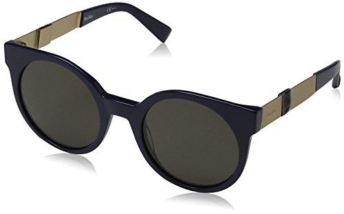 Max Mara Damen MM PRISM VIII KU IPR 51 Sonnenbrille, Havana Bl Blue