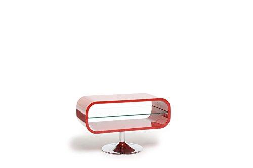 "Opod OP80R - LCD & Plasma TV Stand upto 37"" - Gloss Red"