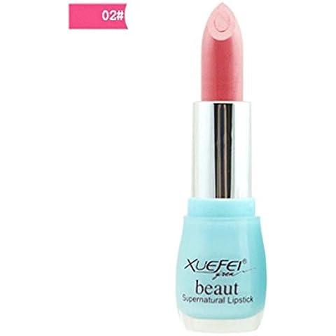 Fortan 2016 NUOVO sexy idratante Long Lasting impermeabile del rossetto trucco Glossy Lip Gloss - 02