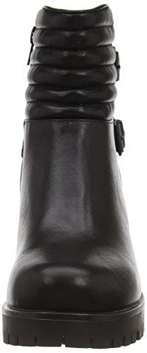 Dockers by Gerli 37CE202, Boots compensées femme Noir (Schwarz 100)