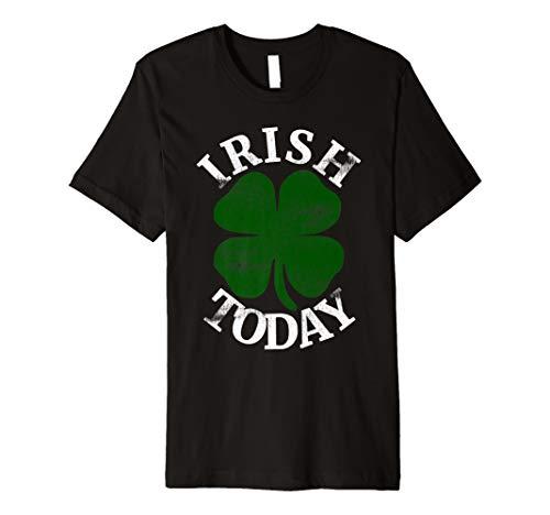 ick's Day Green Shamrock T-Shirt Ireland ()