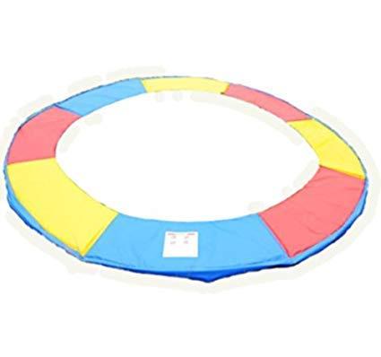 Homcom Cubierta de Proteccion Borde Cama elástica y Trampolines, diámetro ø 244, Color Colorido