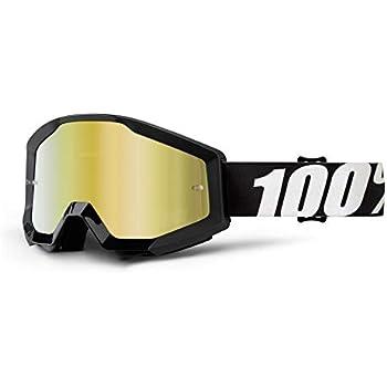 2017 100/% Strata Motocross Mx Moto MTB Occhiali Ice Age Bianco