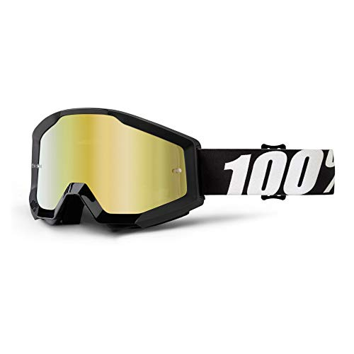 100 Percent STRATA Goggle Outlaw - Mirror Gold Lens
