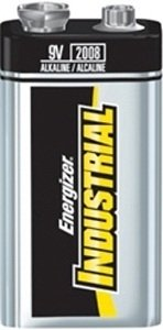 Galleria fotografica Energizer Industrial Battery Long Life 6LR61 9V Ref 636109 [Pack 12]