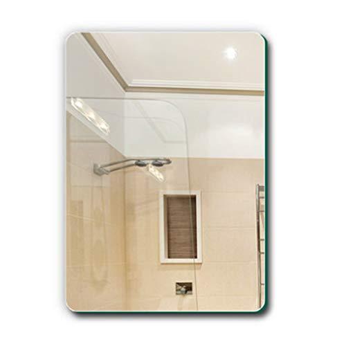 Miroirs Transparent De Salle De Bains De Salle De Bains sans Cadre Mural De Salle De Bains Mural HD Cadeau (Color : Clear, Size : 50x70cm)