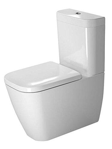 Duravit Happy D.2 Stand-WC Kombination weiß 365 x 630 mm, mit Wondergliss, 21340900001
