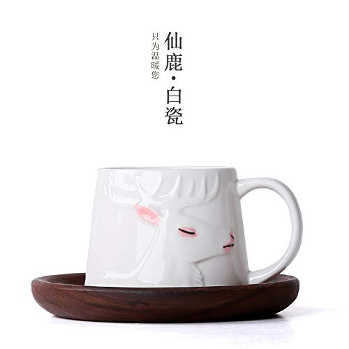 Winpavo Becher Kaffeetassen Tassen Moma Hirsch Hand Bemalt Tasse Jingdezhen Keramik Zuhause Kreative...